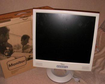 Monitor, LCD, TFT